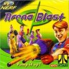 NERF arena blast - atari windows 95 / 98 1999 hasbro used mint