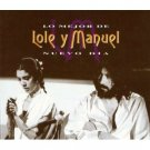 lole y manuel - nuevo dia - lo major de CD 2-discs 1994 sony used mint