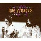 lole y manuel - nuevo dia - lo major de CD 2-discs 1994 sony used mint