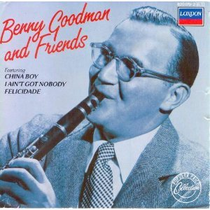 benny goodman &amp; friends CD 1984 decca polygram germany mint