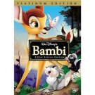 walt disney's bambi DVD 2-disc platinum edition used mint