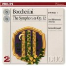 boccherini - symphonies op.12 - NPO & raymond leppard CD 2-discs 1997 polygram mint
