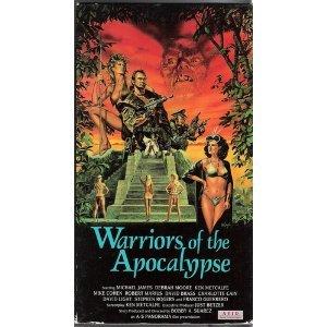 warriors of the apocalypse VHS 1992 avid 96 min used