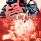 man on fire - scott glenn brooke adams danny aiello VHS 1989 vestron 1987 films cinema 92 min used