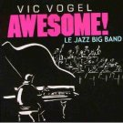 vic vogel - awsome big band featuring ballad for duke CD 1987 pinnacle used mint