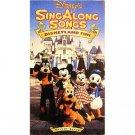 disney's singalong songs - disneyland fun VHS 29 mins used