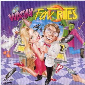 wacky favorites disc one CD 1993 MCA used mint