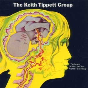 keith tippett group - dedicated to you but you weren't listening CD 1994 repertoire mint