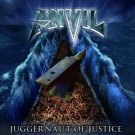 anvil - juggernaut of justice CD 2011 end records 14 tracks used mint