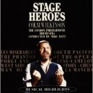 colm wilkinson - stage heroes CD 1989 1995 RCA used mint