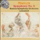 mahler symphony no.5 - boston symphony orchestra with leinsdorf CD 1990 RCA used mint