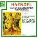 handel alcina - il pastor fido terpsichore - english baroque soloists & gardiner CD 1985 erato