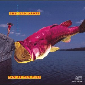 radiators - law of the fish CD 1987 epic CBS used mint