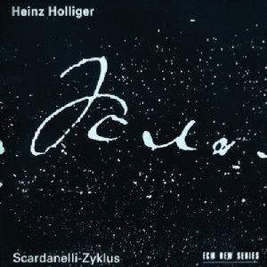 heinz holliger - scardanelli-zyklus CD 2-disc box 1993 ECM BMG used mint