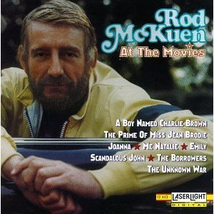 rod mckuen - at the movies CD 1994 laserlight stanyan used mint