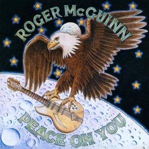 roger mcguinn - peace on you CD 1974 sony 10 tracks used mint