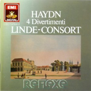 haydn - 4 divertimenti - linde-consort CD 1987 EMI made in japan used mint