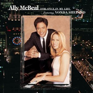 ally mcbeal - for once in my life featuring vonda shepard CD 2001 sony new
