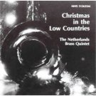 christmas in the low countries - netherlands brass quintet CD 1990 MHS used mint