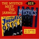 the mystics meet the jarmels CD 1998 ace emi UK 30 tracks used mint