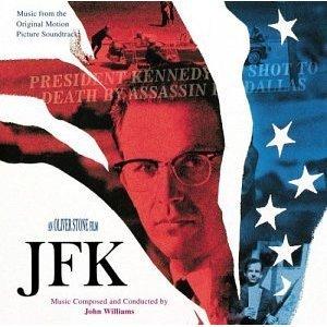 JFK - oliver stone film soundtrack by john williams CD 1992 elektra time warner 18 tracks used mint