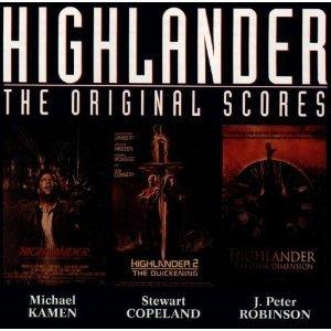 highlander - original scores CD 1995 edel germany 16 tracks used mint