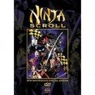 ninja scroll - 10th anniversary special edition DVD 2003 manga entertainment used mint