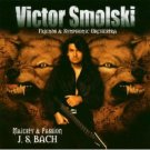 victor smolski friends and symphonic orchestra - majesty & passion J S bach CD 2004 drakkar mint