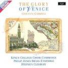 gabrieli - glory of venice - king's college choir stephen cleobury CD 1987 argo decca