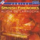 spanish fireworks - alicia de larrocha CD 1990 decca made in germany mint