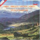 grieg sibelius nielsen wiren - marriner & academy of st martin-in-the-fields CD 1986 decca argo mint