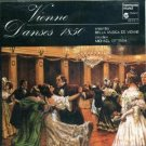 vienne danses 1850 - bella musica de vienne and michael dittrich CD 1981 harmonia mundi mint