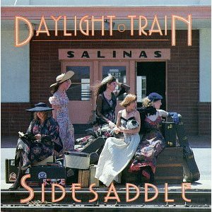 daylight train - sidesaddle CD 1991 turquoise 14 tracks used mint