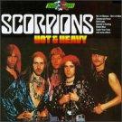 scorpions - not & heavy CD 1989 RCA used mint