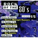 rock of the 80's volume 15 - various artists CD 1994 priority 9 tracks used mint