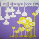sarah washington - i will always love you dance mix CD single 1993 zyx 5 tracks used mint