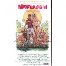 meatballs III starring sally kellerman shannon tweed VHS 1984 avid used mint