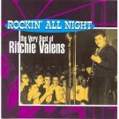 very best of ritchie valens - rockin&#39; all night CD 1995 del-fi 22 tracks used mint