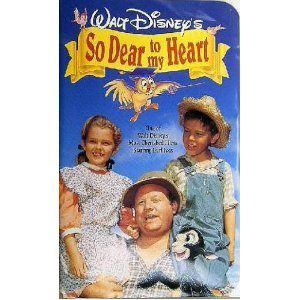 so dear to my heart - Bobby Driscoll Luana Patten Burl Ives VHS disney used mint