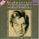 rachmaninov corelli variations op.49 etudes-tableaux op.39 - ashmenazy CD 1988 decca london used