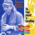 david alan gross - the final answer to everything CD 1997 MJA used mint