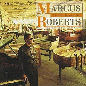 marcus roberts - if i could be with you CD 1993 novus bmg used mint