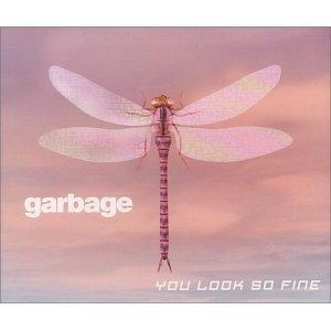 garbage - you look so fine CD single 1999 mushroom UK 3 tracks used mint