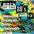 rock of the 80's volume 12 - various artists CD 1994 priority used mint