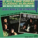 diana ross - where did our love go & i hear a symphony CD 1986 motown used mint