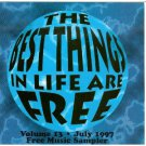 the best things in life are free - various artists CD 1997 AIM 15 tracks used mint
