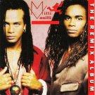 milli vanilli - remix album CD 1990 arista used