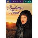 babette's feast - stephane audran birgitte federspiel DVD 2001 MGM used
