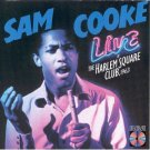 sam cooke - live at harlem square club 1963 CD 1985 RCA used mint