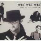 wet wet wet - love is all around CD 1994 london precious organization 2 tracks used mint